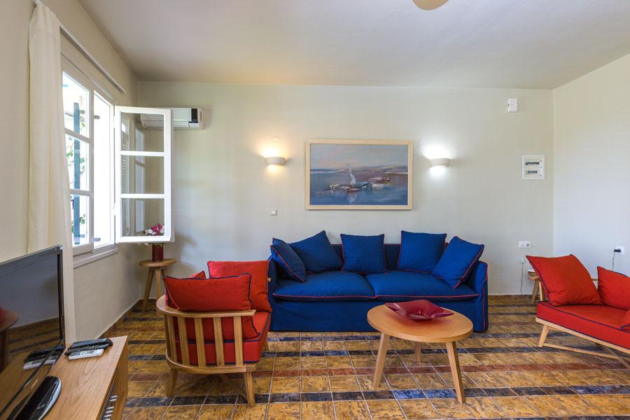 Indoors - Living room area