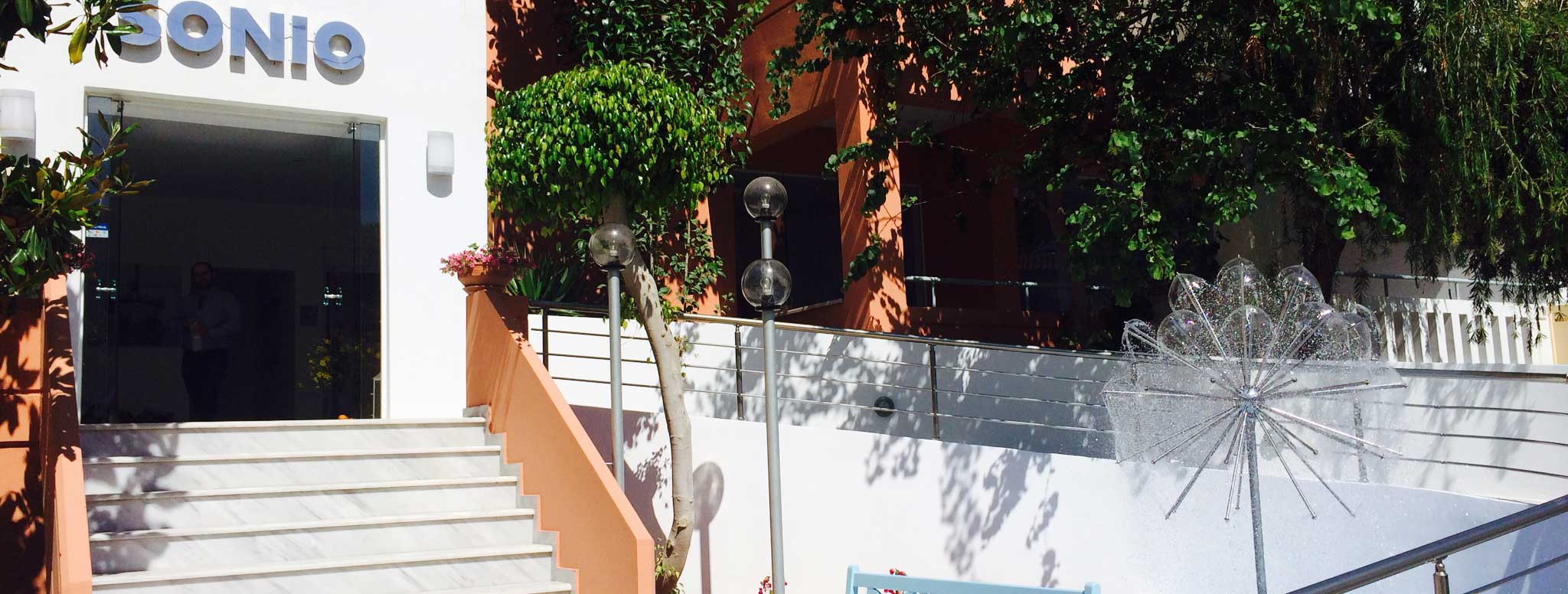 Sonio Beach Hotel - Sonio Beach-Entrance