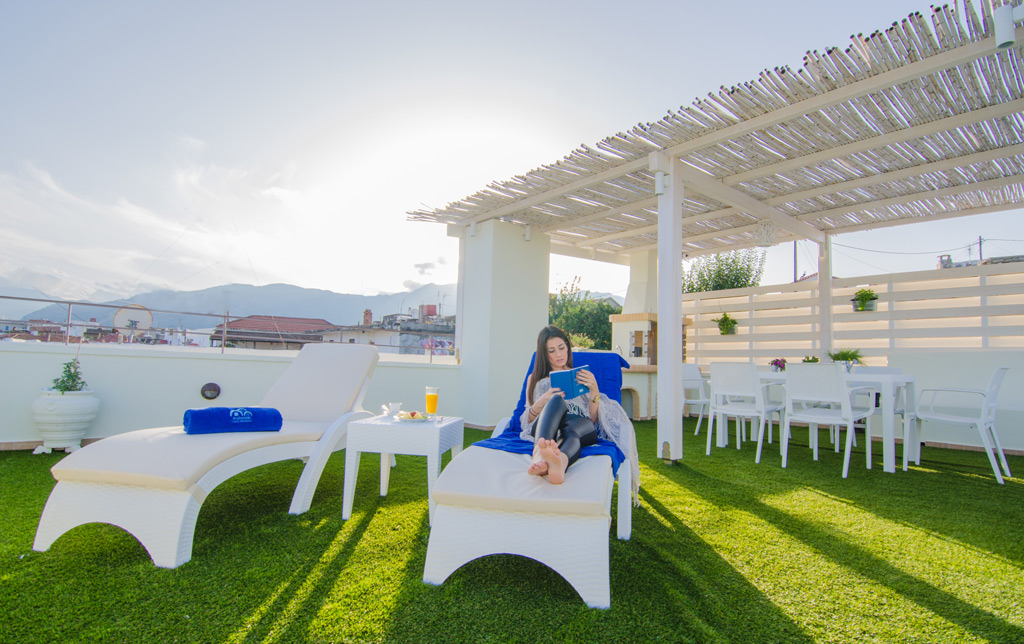 Archontiki Villas - Enjoyable moments on the Roof Garden