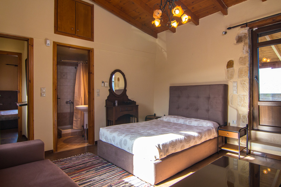 Rooms - Bedroom on the first floor