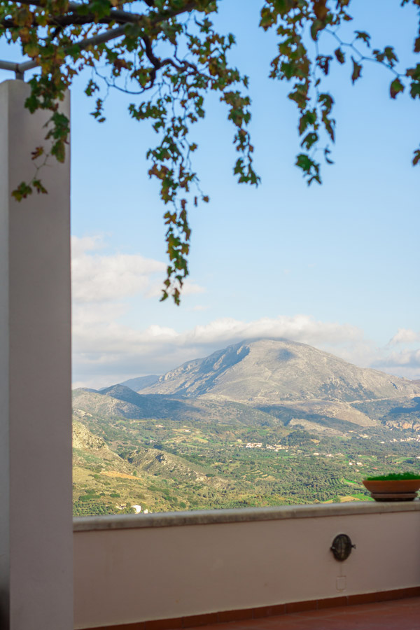 Outdoor - Panoramic view from our veranda!