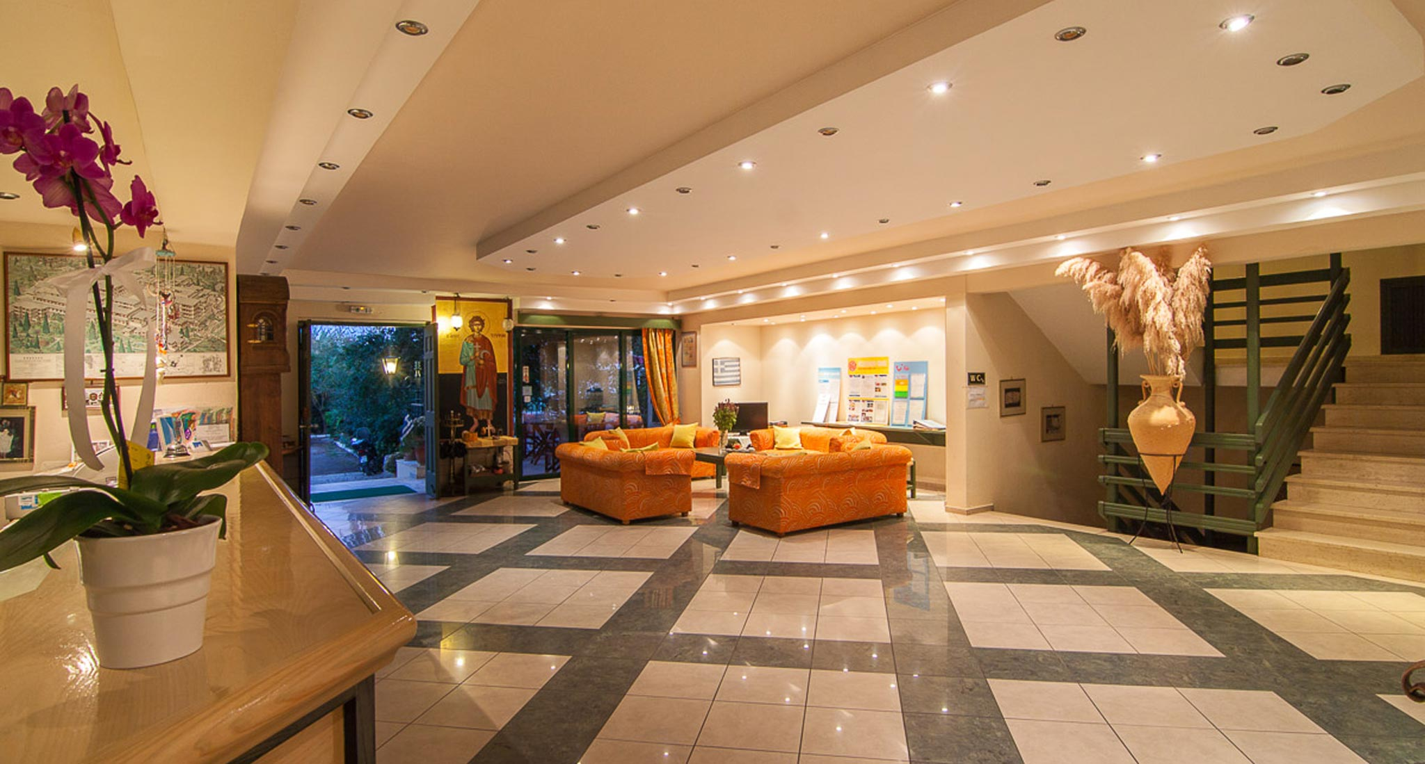 Trefon Hotel Apartments - Reception