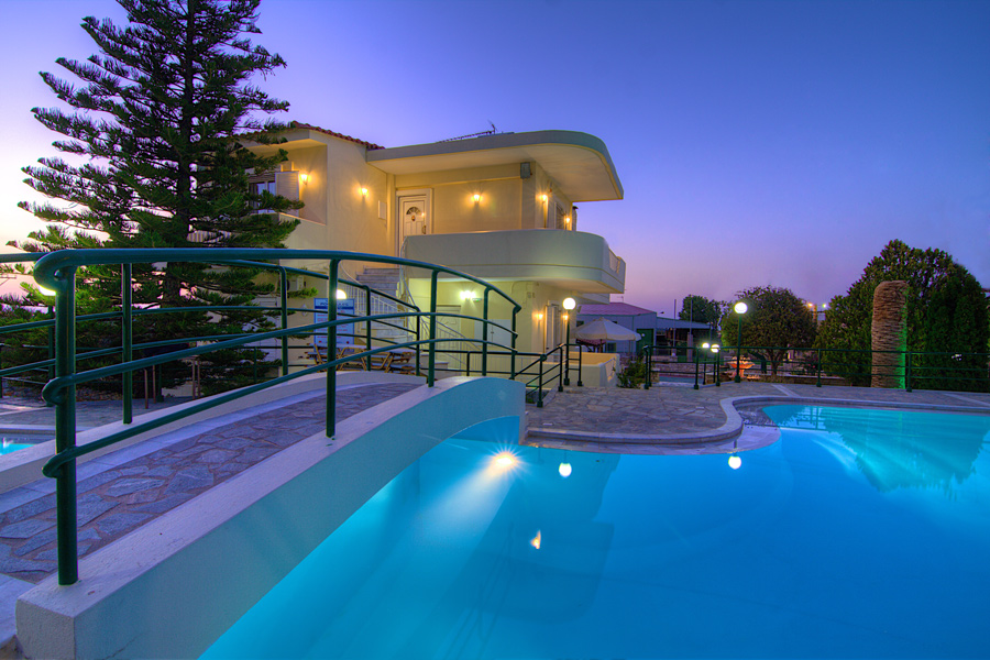 Outdoors - Villa and Swimming Pool