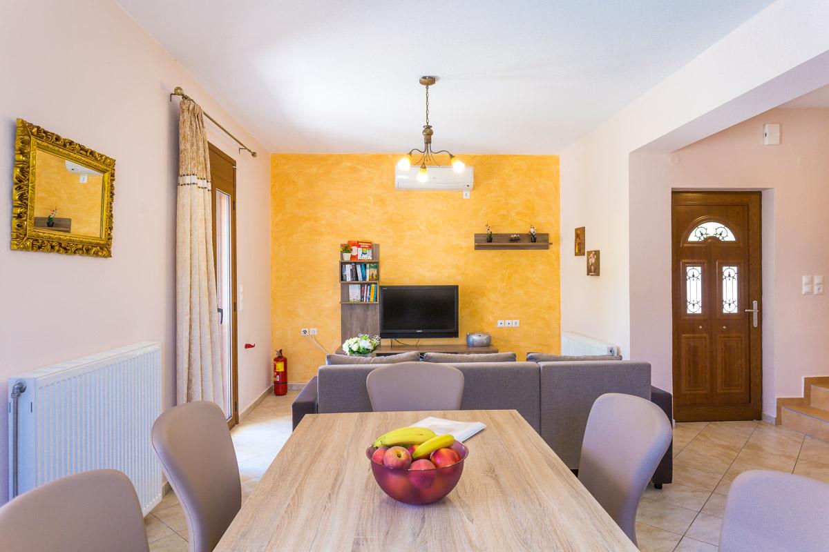 Indoors Villa Roumeli -