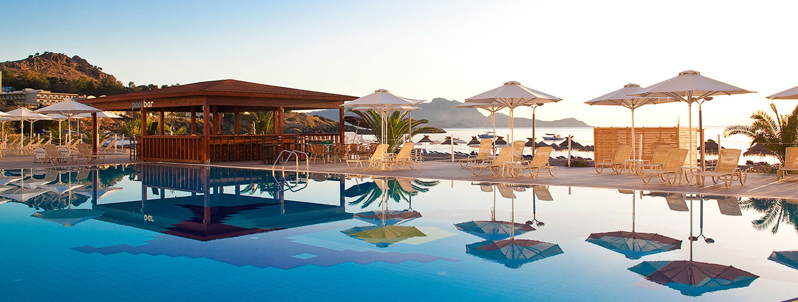 ΤUI  Sensimar Lindos Bay Resort & Spa - Located on the magnificent Vlycha beach...