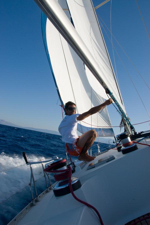 Amazing Sailing In Crete Icon